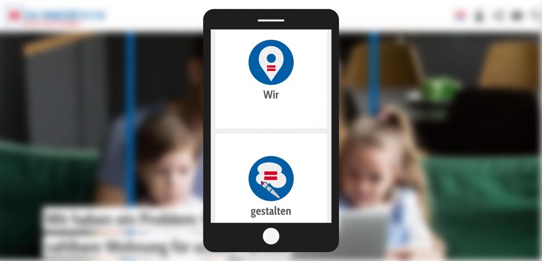 Bildschirmfoto Handy Wir gestalte Gesellschaft von Der PARITÄTische Baden-Württemberg