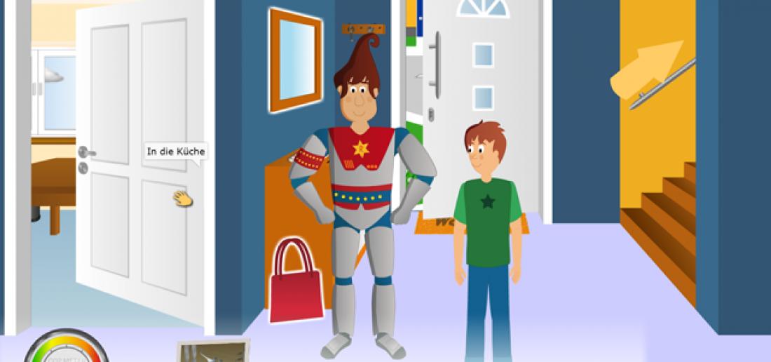 Captain Rivo hilft Tom im ganzen Haus CO2 zu sparen